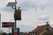 Nové radary ve Vyškově zpomalí řidiče