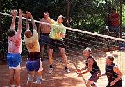 Volejbalového turnaje O pohár Lulče se na čtyřech antukových kurtech zůčastnilo 17 mužských týmů. Ve finále hlavní skupiny porazil Sokol Drávov Volejbal Vyškov 2:0.