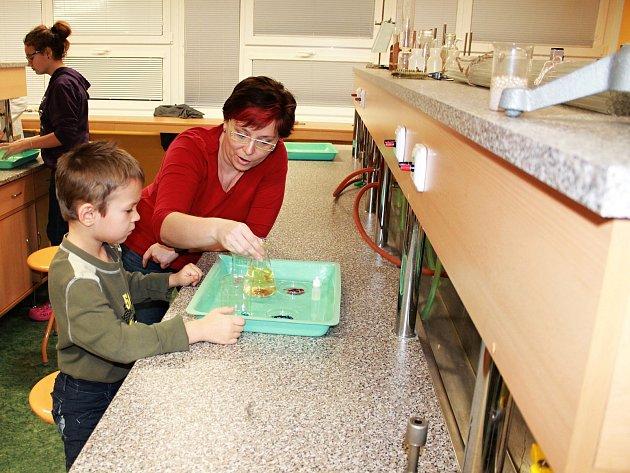 Vyškovská základní škola Purkyňova lákala nové žáky na dnu otevřených dveří.