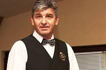 Petr Kuneš, předseda Klubu přátel kulečníku (KPK) Vyškov.