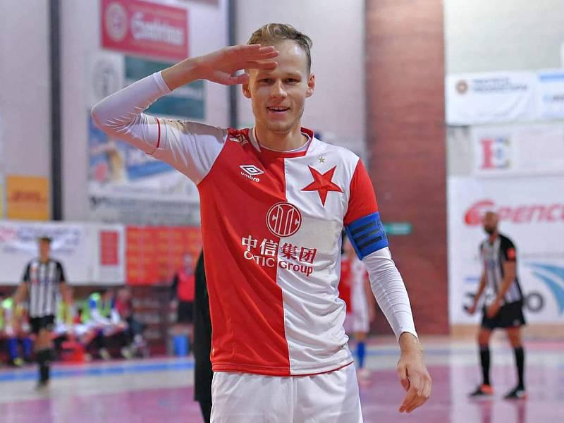 Kapitán prvoligových futsalistů Slavie Praha Jan Homola odstartoval kariéru v Dražovicích.