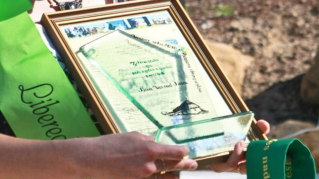 Ocenění Zelená stuha v soutěži Vesnice roku. Ilustrační foto.