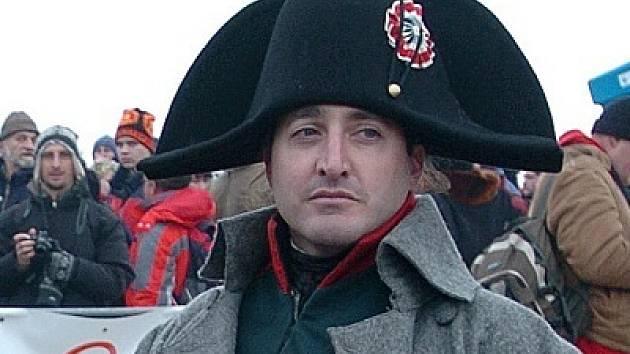 Populární představitel Napoleona Mark Schneider.