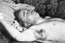 Snímek zavražděného kancléře.