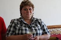 Starostka jihomoravské Vesnice roku 2010 Hana Šíblová.