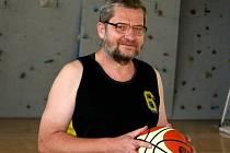 Jiří Fojt, dlouholetý předseda BK Vyškov.
