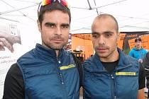 Dvojice Marek Moflar (vpravo) a Tomáš Novotný.