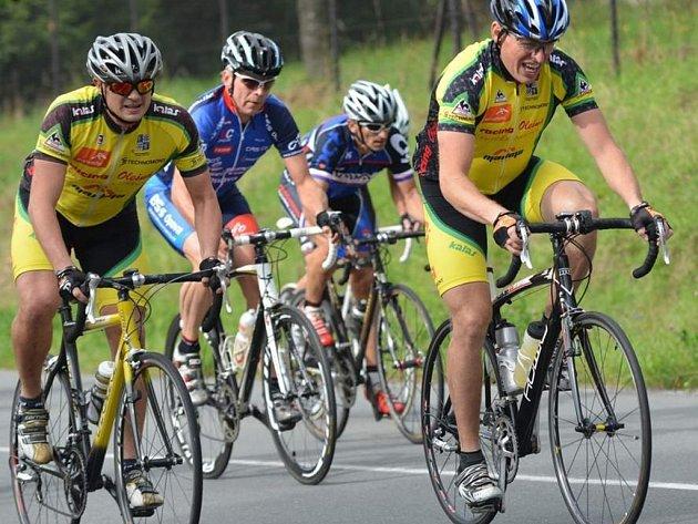 Letošní Velké ceny Technomontu – Tour de Čupek se zúčastnilo 175 závodníků a závodnic.