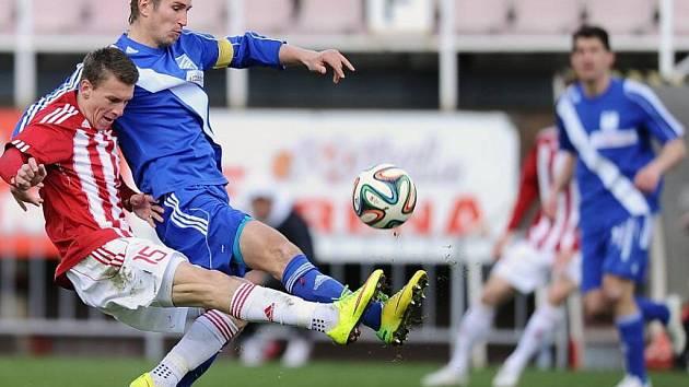 Utkání FK Viktoria Žižkov - MFK Frýdek-Místek.