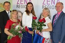 Celonárodní soutěž Žena regionu.