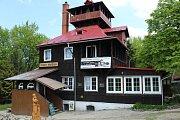 Beskydská horská chata Prašivá.