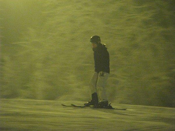 Ski areál vMalenovicích nabídl během víkendu ivečerní lyžování.