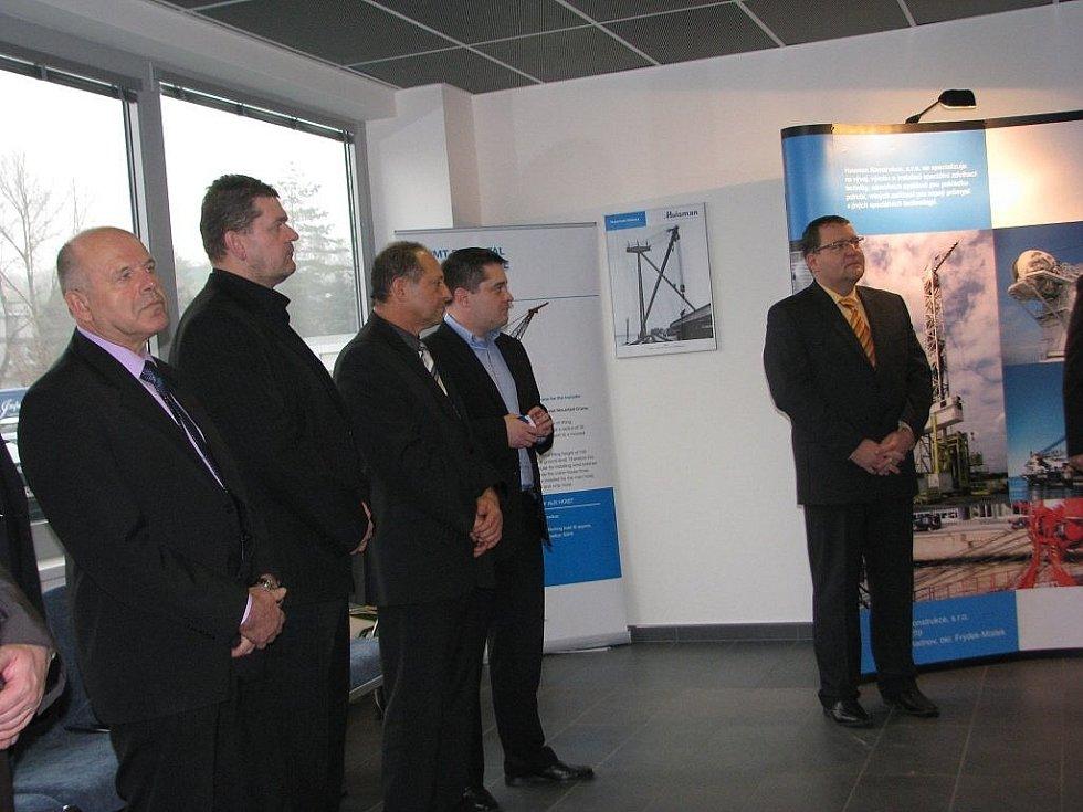Sviadnovská firma Huisman Konstrukce otevřela novou vývojovou a konstrukční budovu.