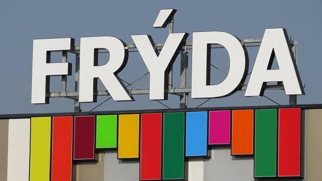Logo obchodního centra Frýda ve Frýdku-Místku.