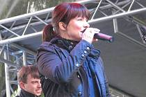 Jedním z vrcholů sobotního Beskydy Sound 08 ve Frýdku-Místku bylo vystoupení Anny K.