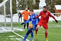 Fotbalisté Třince si v přípravném utkání snadno poradili s divizními Petrovicemi 8:0.