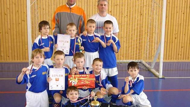 Mladí fotbalisté Frýdku-Místku skončili třetí.