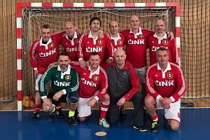 Vítězný tým Slezanu.
