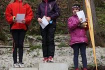 Mladé závodnice Klára Mílová a Veronika Procnerová skončily ve Štramberku na medailových pozicích.