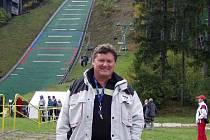 Trenér mladých kozloivckých skokanů na lyžích Pavel Fizek může být s letošní letní sezonou spokojen.