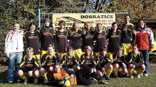 Fotbalistky z Dobratic