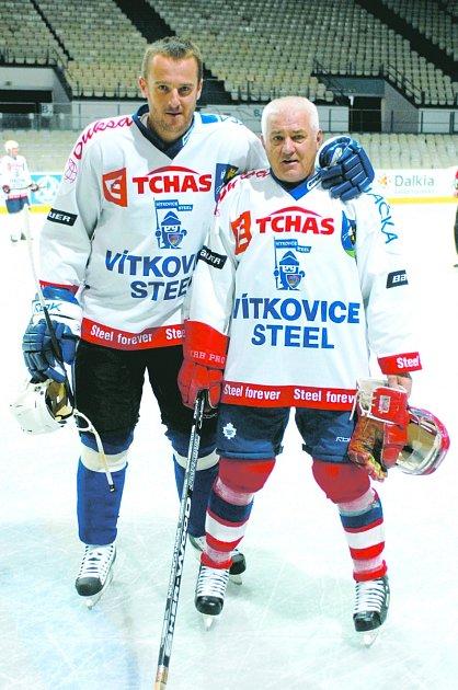 Anketa Deníku. Vaclav Kubina, Janovice (na snímku vpravo).
