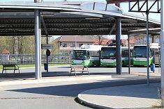 Autobusy ve Frýdku-Místku.