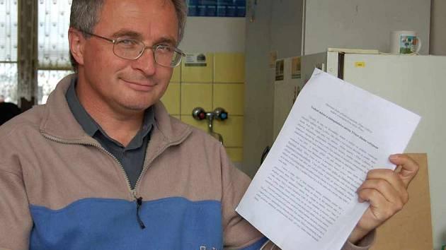 geodet Zdeněk Macošek.