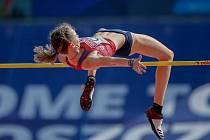 Bára Sajdoková je mladá nadějná atletka z třineckého oddílu.