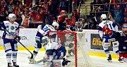 Hokejová extraliga - 1. finále: Třinec - Kometa Brno