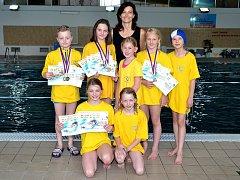 Desetiletí plavci z PO Frýdek-Místek se představili na závodech v Prostějově.