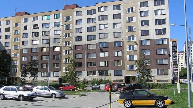Sídliště Slezská ve Frýdku-Místku.
