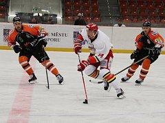 Extraligový polský celek z Jastrzębie si ani na druhý pokus neporadil s hokejisty Frýdku-Místku, se kterými prohrál 3:4 po nájezdech.