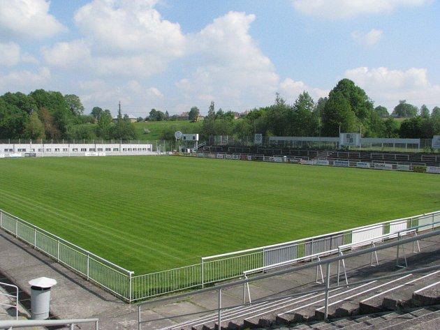 Stadion Stovky ve Frýdku-Místku.