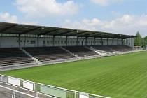 Stadion Stovky ve Frýdku-Místku. Ilustrační snímek.