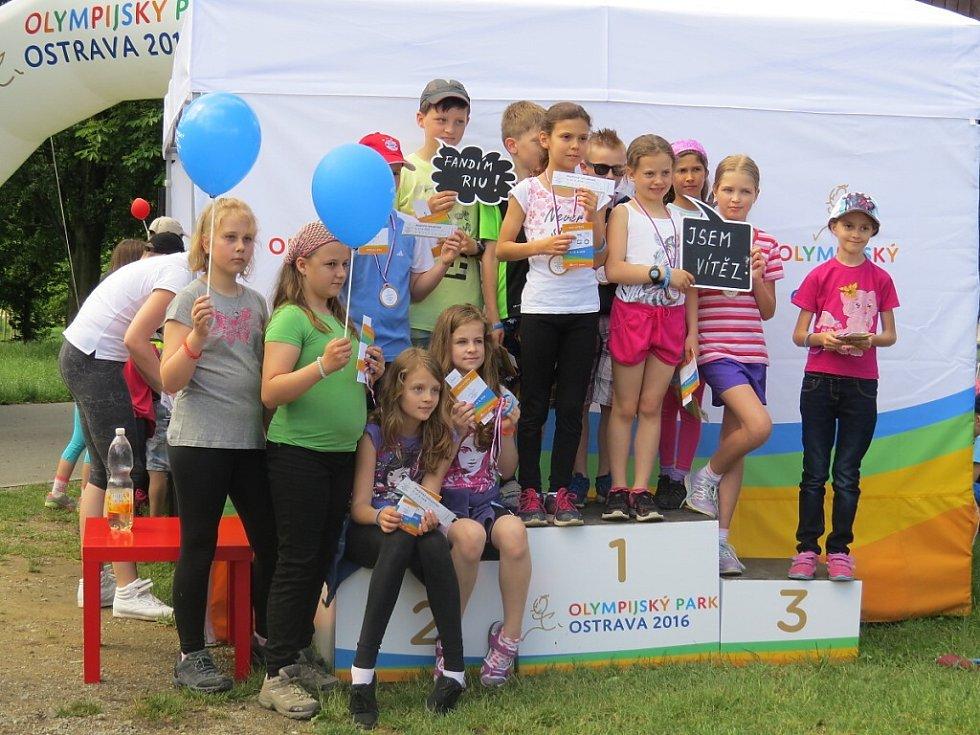 Roadshow, která si klade za cíl pozvat sportovní nadšence do Olympijského parku Ostrava v době konání letních olympijských her v Riu de Janeiru.