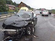 Tragická nehoda v Mostech u Jablunkova.