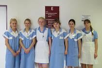 První letošní maturantky ve frýdecko-místecké nemocnici.