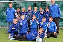 Nejmladší žáci frýdecko-místeckého MFK skončili v mezinárodním turnaji v Hlučíně na prvním místě.