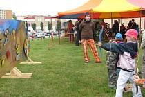 Létohrádky, které se konaly v sobotu ve Frýdku-Místku, bavily děti i jejich rodiče.