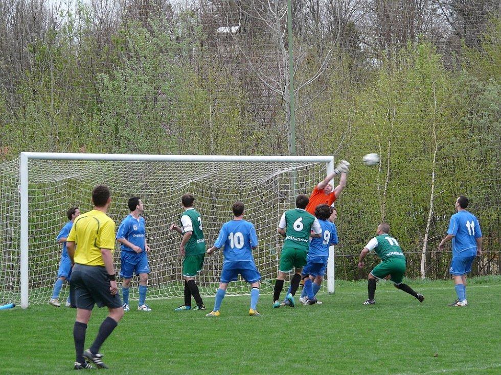 Snímky z utkání Dobratice - Doubrava 4:0.