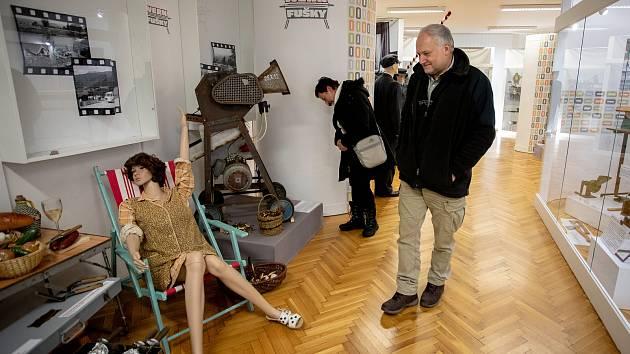 Výstava Werkfušky v Muzeu Třineckých železáren, 7. února 2020 v Třinci.