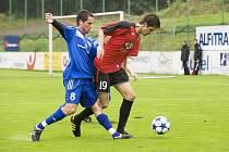 Druholigoví fotbalisté Třince zdolali na domácím hřišti nováčka ze Sezimova Ústí jen díky přesné trefě Malíře z 83. minuty zápasu.