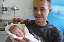 Julie Chwastková, Vendryně, nar. 26. 9., 52 cm, 3,88 kg, Nemocnice Třinec.