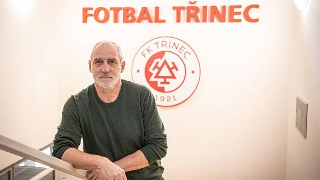 Bývalý reprezentant Karel Kula stojí už několik let v čele třineckého fotbalu.