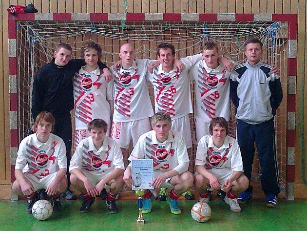 Mladí futsalisté ze Střední školy gastronomie a služeb z Frýdku-Místku se stali vítězi okresního kola AŠSK.