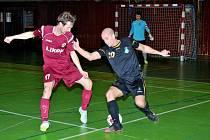 Futsalisté Likopu Třinec v utkání s VŠB Ostrava