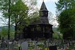 Nová stavba kostela byla dokončena v roce 1897. Patří k turistickým atrakcím Bystřice.