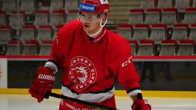 Andrej Nestrašil naskočí do nedělního utkání proti Hradci.