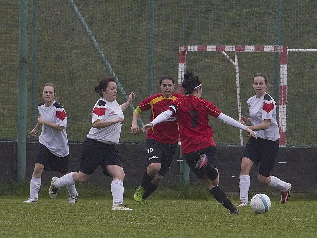 Ženy SK Brušperk - Spartak Lubina 2 : 2